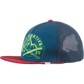 La Sportiva Hipster copricapo rosso/blu
